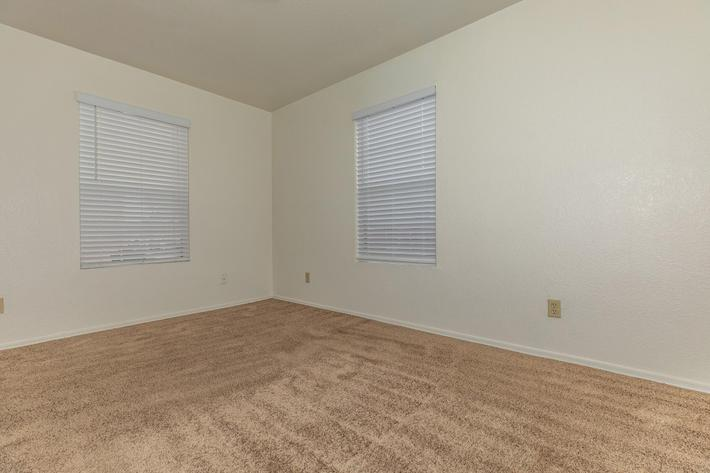 Your carpeted apartment for rent awaits