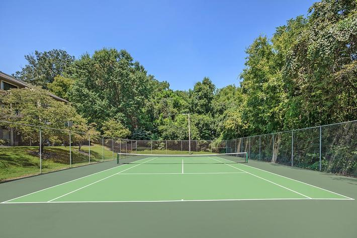 Sports Court at Papermill Square Apartments in Knoxville, Tennessee