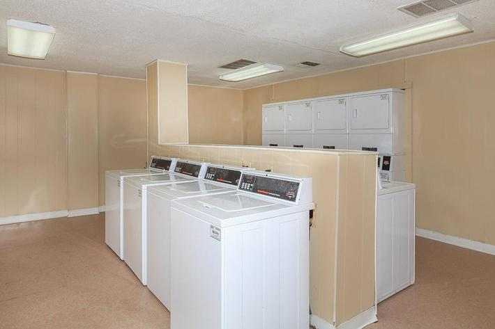 Two Laundry Facilities