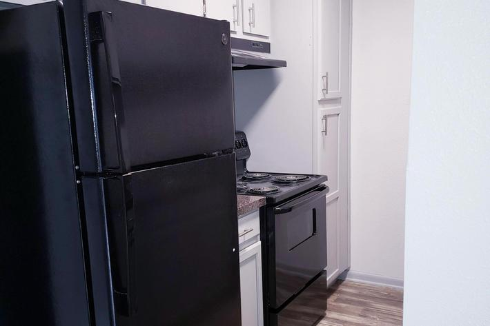 All-electric Kitchen at Hollytree in Tyler, Texas