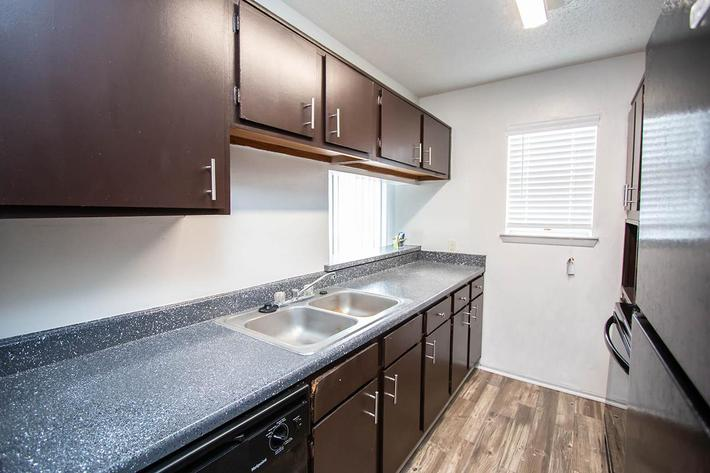 Your New Kitchen with Dishwasher at Hollytree in Tyler, TX