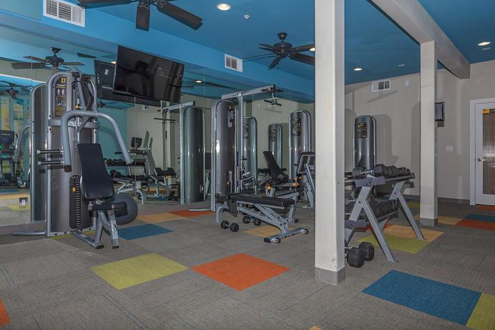 24-HOUR STATE-OF-THE-ART FITNESS CENTER AT ECHELON AT CENTENNIAL HILLS IN LAS VEGAS