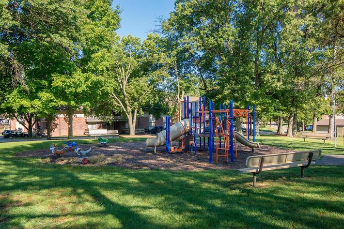 Whispering Hills Apartments in Creve Coeur, MO - Playground 01.jpg
