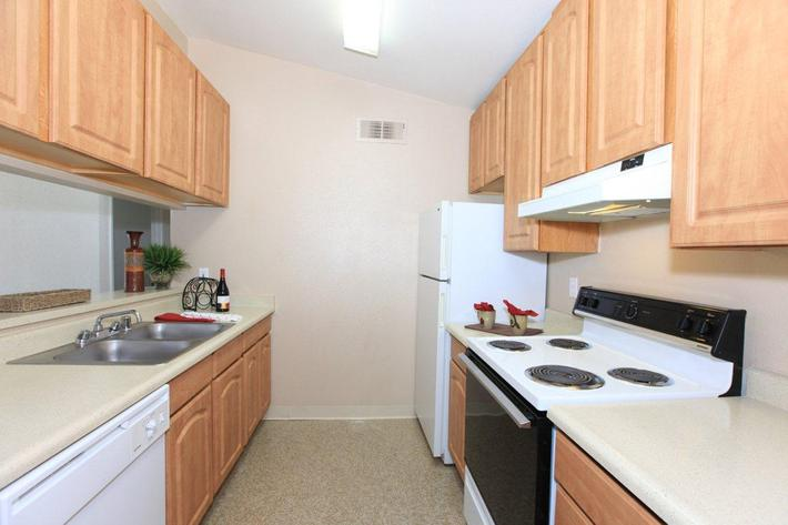Papillon has fully equipped kitchens