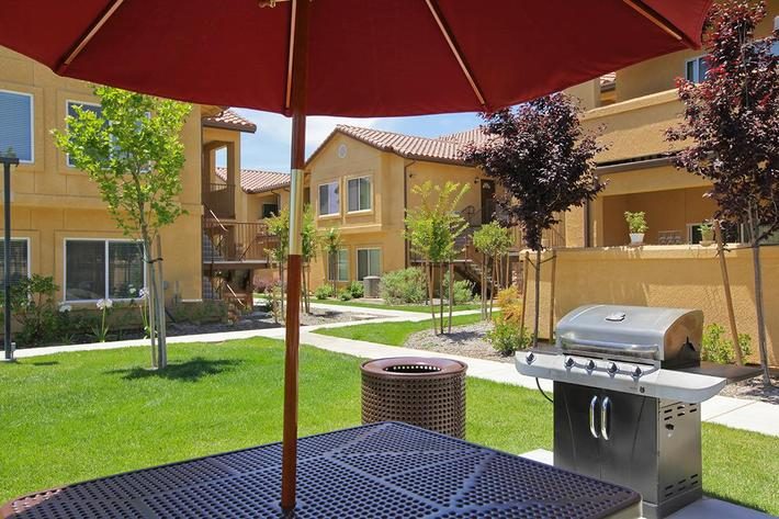 Villa Siena Apartments is a small community