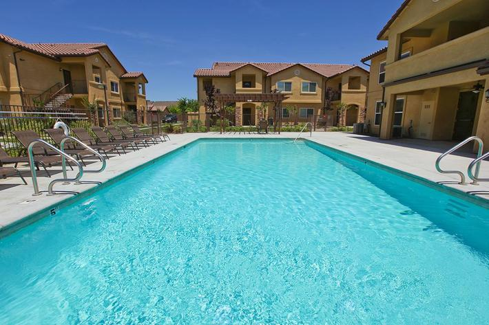 You will like the pool at Villa Siena Apartments