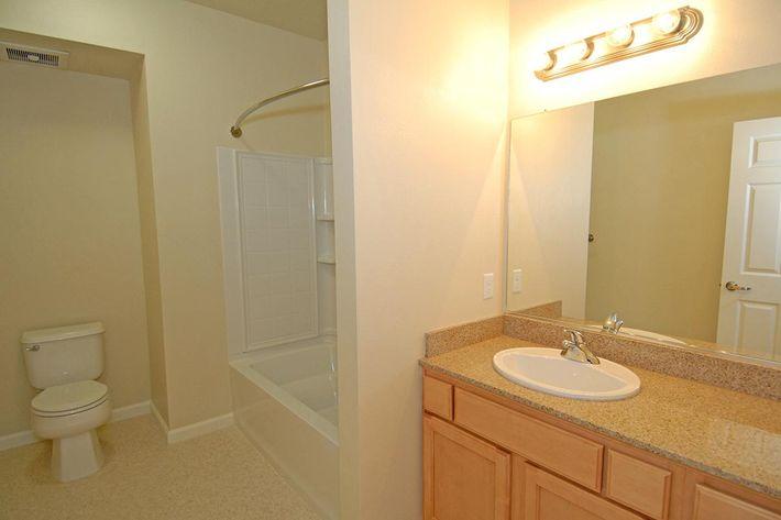 Villa Siena Apartments provides modern bathrooms