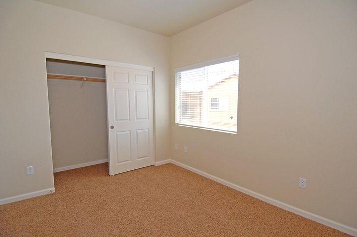 We have cozy bedrooms at Villa Siena Apartments