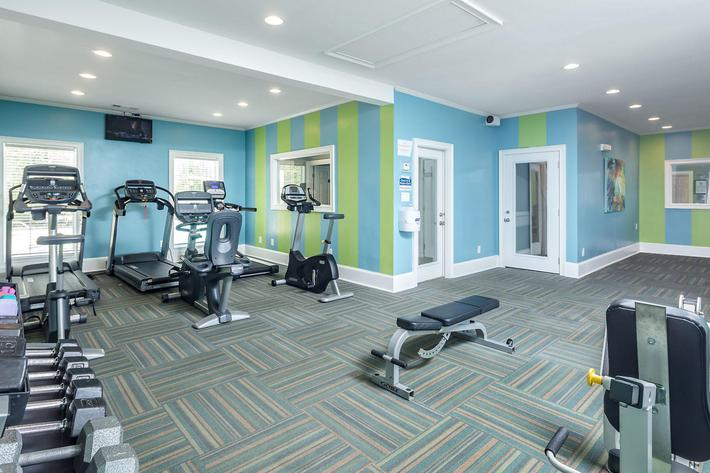 Walden Glen Apartments in Evans, GA - Fitness Center 01.jpg