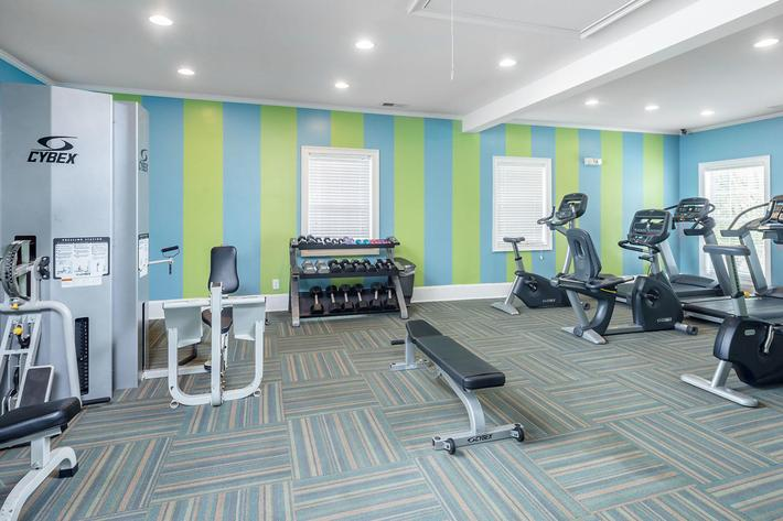 Walden Glen Apartments in Evans, GA - Fitness Center 02.jpg
