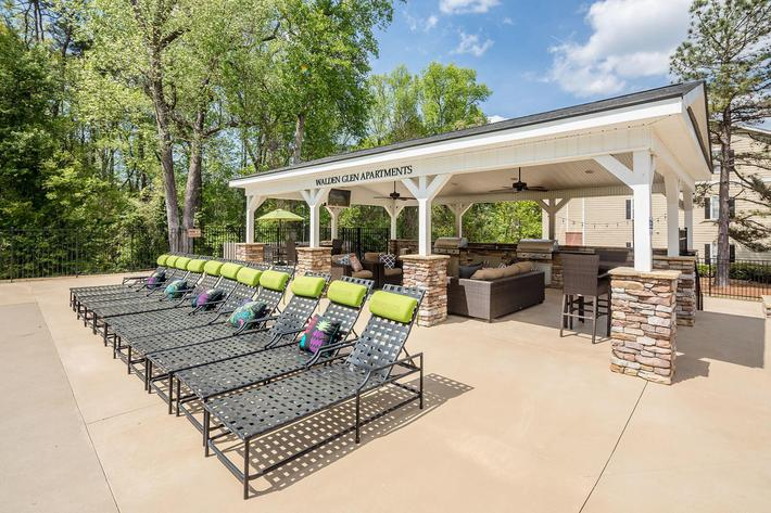 Walden Glen Apartments in Evans, GA - Pool Area 02.jpg