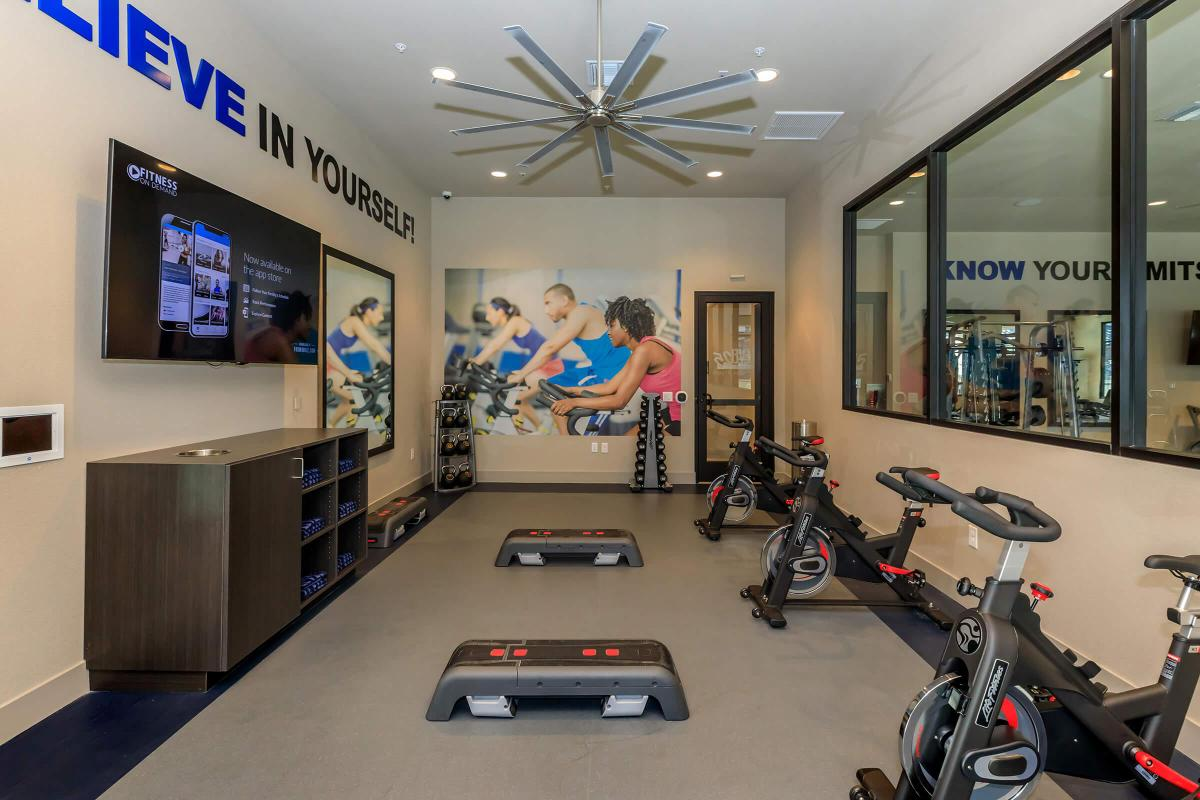 FITNESS ON-DEMAND AND SPIN BIKES