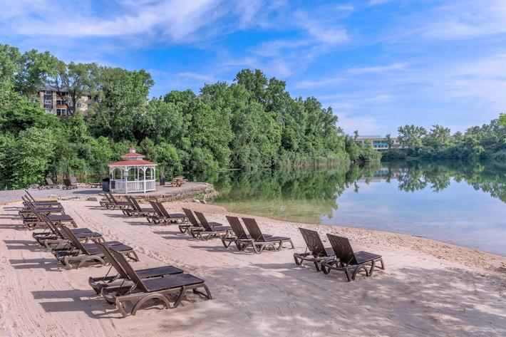 ENJOY OUR 25-ACRE LAKE WITH A BEACH!
