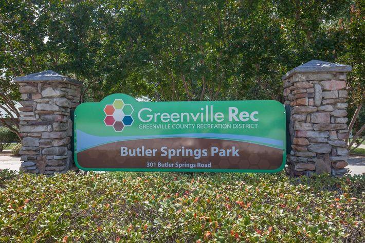Butler Springs Park at Haywood Pointe in Greenville, South Carolina.