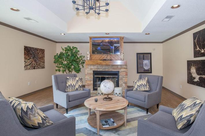 Enjoy our clubhouse at Haywood Pointe in Greenville, South Carolina.