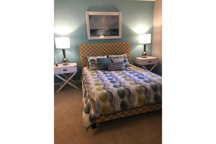 Plush carpeting in The Bradford at Haywood Pointe in Greenville, SC.