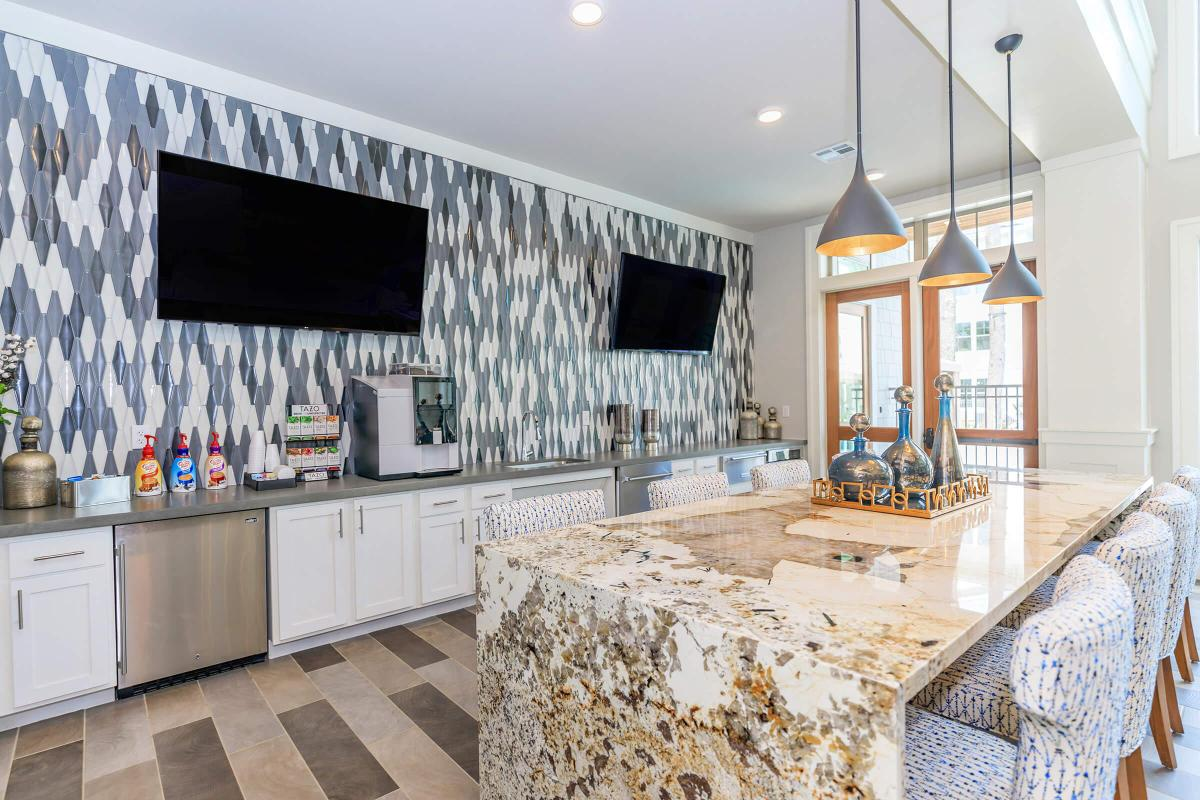 Entertaining is easy here at Ariza Gosling in Spring, Texas