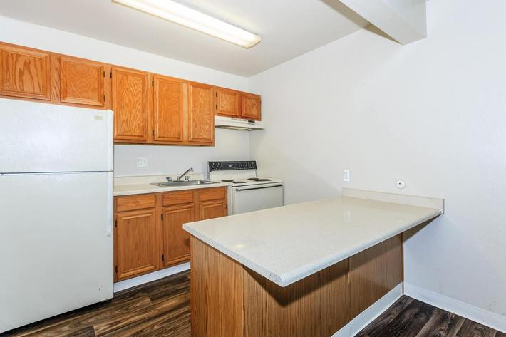 Thornbridge Apartments provides fully-equipped kitchens
