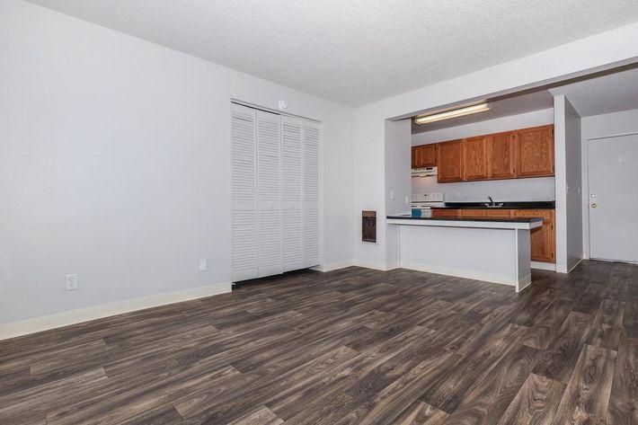 Thornbridge Apartments provide updated flooring