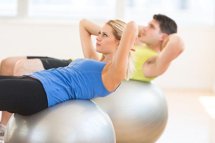 Fitness Ball At Gym.jpg