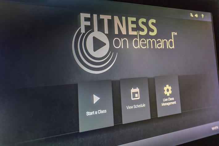 WE HAVE FITNESS ON DEMAND AT LEVEL 25 AT OQUENDO IN LAS VEGAS