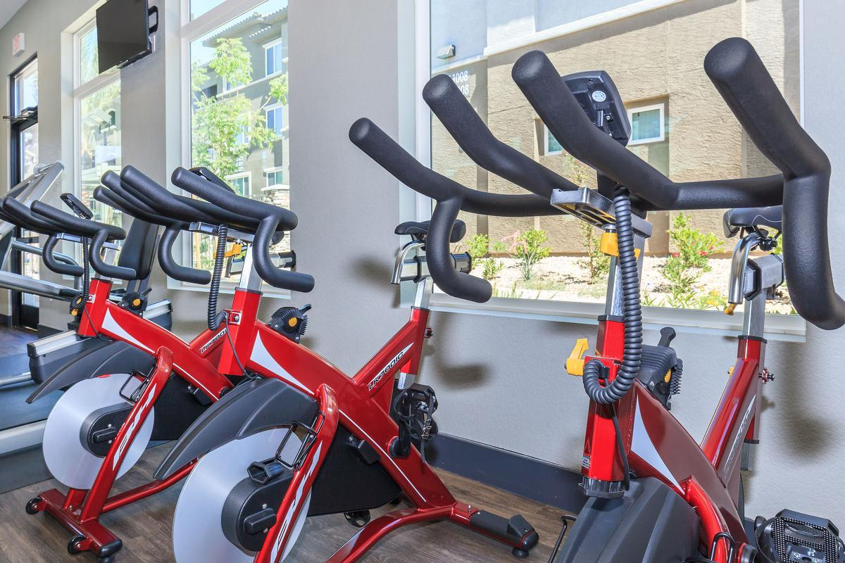 WE HAVE SPIN BIKES