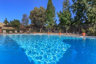 You will love the swimming pools at Cobblestone Village