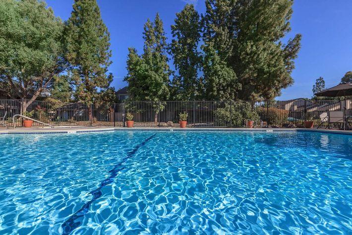 Cobblestone Village has huge swimming pools