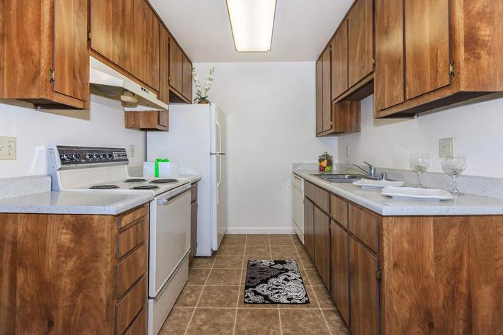 Cobblestone Village has all electric kitchens