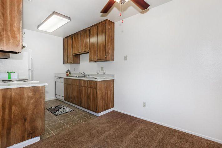 Cobblestone Village has ample cabinet space