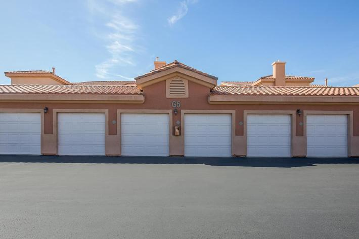 GARAGES AVAILABLE AT CORONADO BAY CLUB IN LAS VEGAS