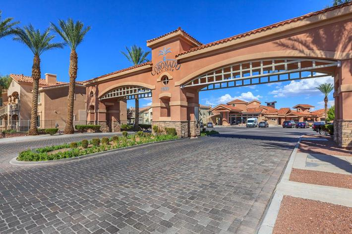 GATED ACCESS AT CORONADO BAY CLUB IN LAS VEGAS