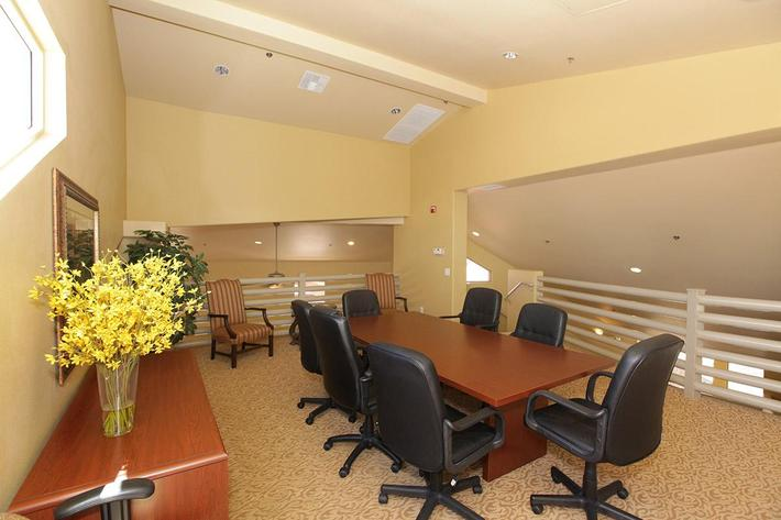 THE BUSINESS CENTER AT CORONADO BAY CLUB IN LAS VEGAS