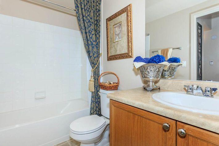 BATHROOM WITH SHOWER BATH