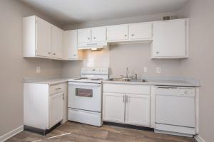 All-electric kitchen at Riverchase Apartments