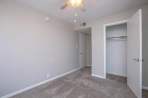 Ample closet space at Riverchase Apartments