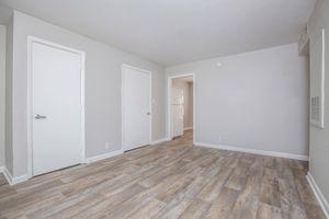 Wood vinyl flooring at Riverchase Apartments
