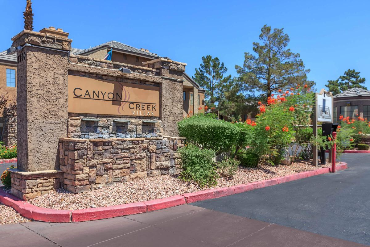 CANYON CREEK VILLAS IN LAS VEGAS, NEVADA WELCOMES YOU TO YOUR NEW HOME