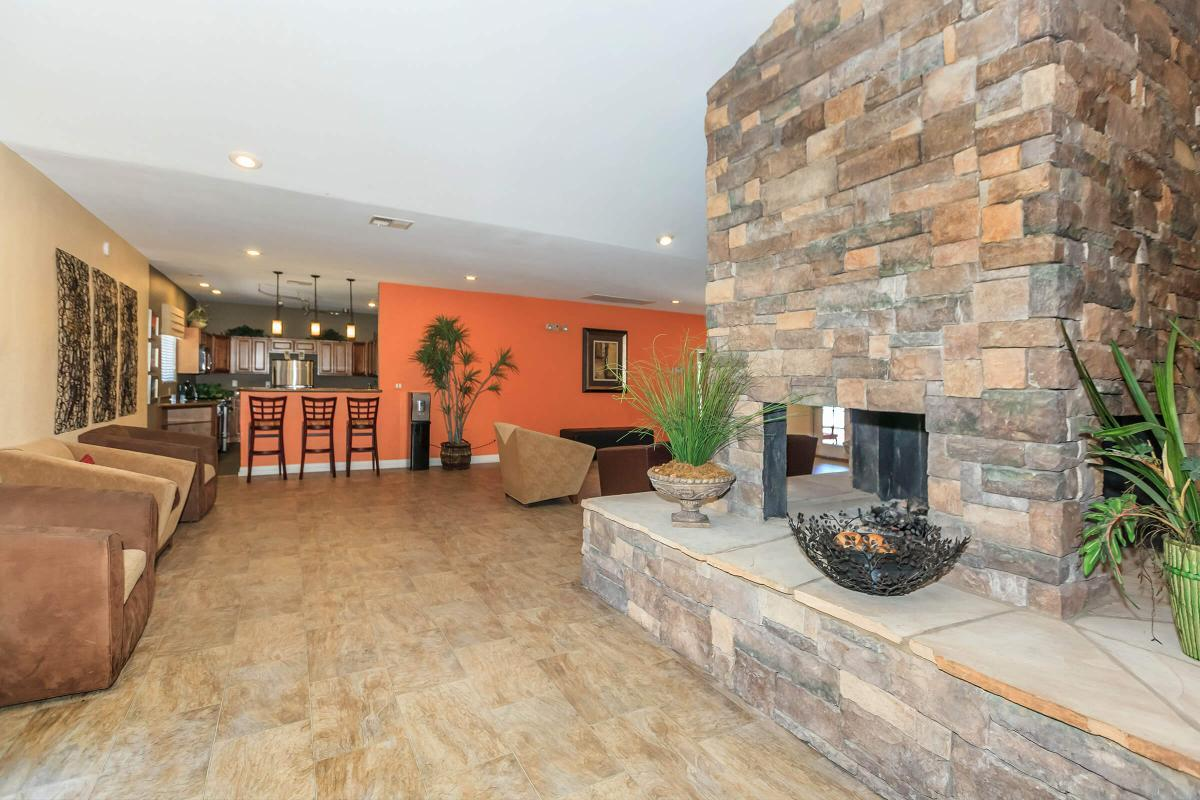 GATHER AROUND IN OUR CLUBHOUSE AT CANYON CREEK VILLAS IN LAS VEGAS, NEVADA