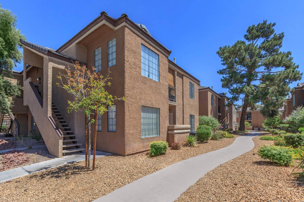 THE PATH TO YOUR NEW HOME AT CANYON CREEK VILLAS IN LAS VEGAS, NEVADA