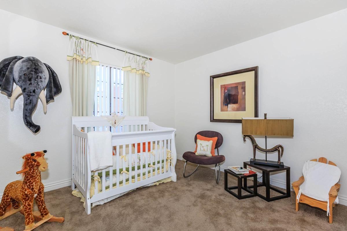 COMFORTABLE BEDROOM AT CANYON CREEK VILLA IN LAS VEGAS, NEVADA
