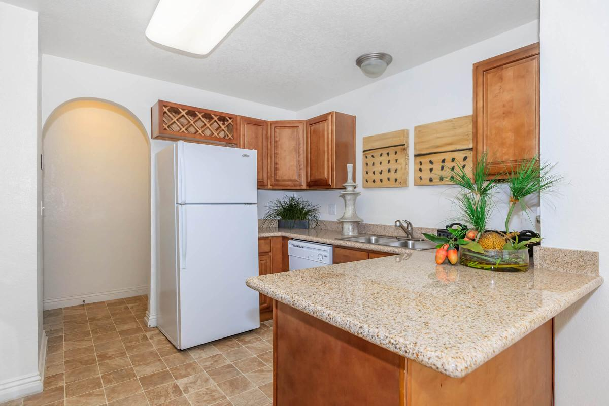 FULLY-EQUIPPED KITCHEN AT CANYON CREEK VILLAS IN LAS VEGAS, NEVADA