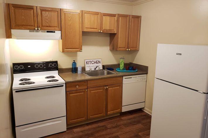 Step saver kitchen