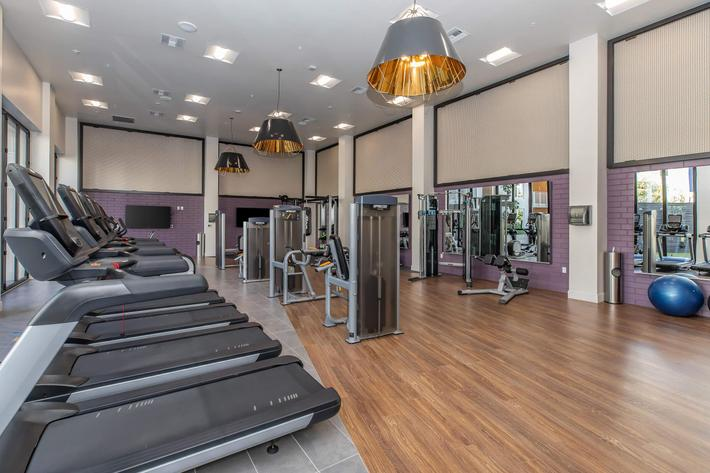 TWO FITNESS CENTERS
