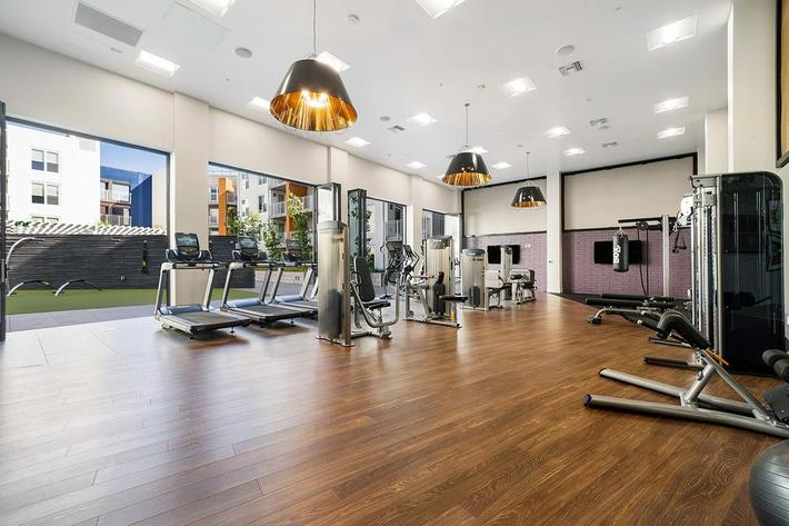 TWO INDOOR FITNESS CENTERS