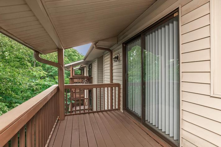 Enjoy the Views From Your Balcony or Patio in Clarksville, TN