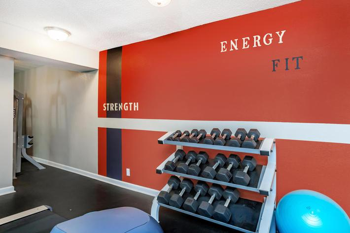 State-of-the-Art Fitness Center at Belle Forest at Memorial