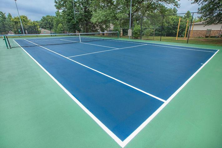 Tennis Courts at Belle Forest