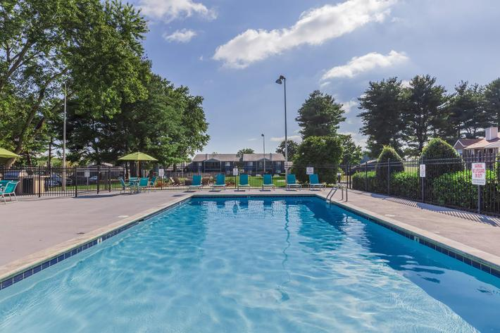 Enjoy The Swimming Pool at Sussex Downs in Franklin, TN