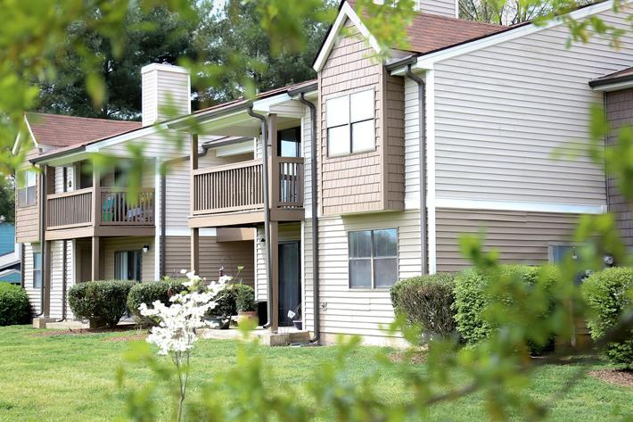 Enjoy The Views from Your Balcony or Patio at Sussex Downs in Franklin, TN